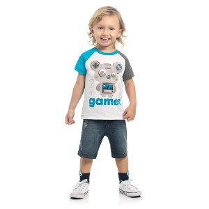 Camiseta Infantil Kamylus Gamer