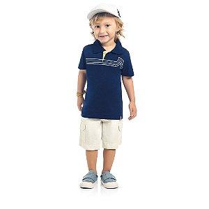 Camisa Infantil Kamylus Polo