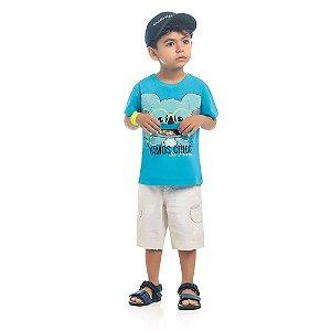 Camiseta Bebê Kamylus Boquinha Coala