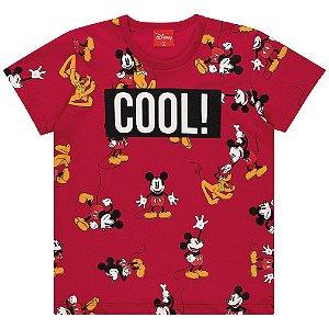 Camiseta Infantil Kamylus Cool, Mickey!
