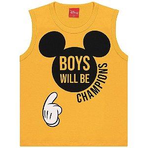 Regata Infantil Kamylus Mickey Boys