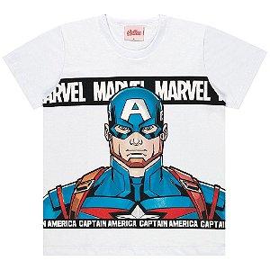 Camiseta Infantil Kamylus Capitão América