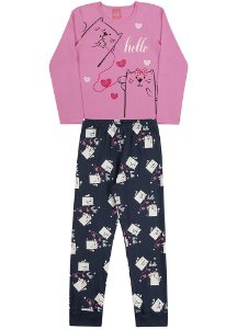 Pijama Feminino Telegato Sem Fio