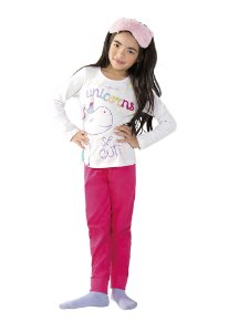 Pijama Feminino Unicórnio Mágico