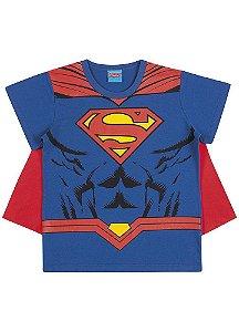 Camiseta Superman com Capa