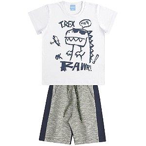 Conjunto Camiseta e Bermuda T-RAWR