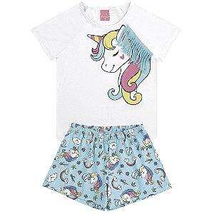 Pijama Sonhos de Unicórnio