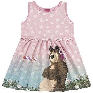 Vestido Regata Masha e o Urso