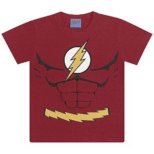 Camiseta Super Homem, Batman e Flash - Liga da Justiça