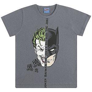 Camiseta Coringa vs Batman - Liga da Justiça