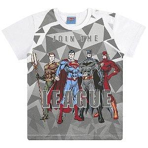 Camiseta Junte-se a Liga da Justiça
