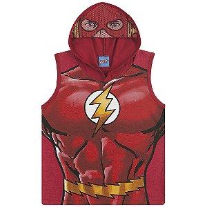 Regata Fantasia Super Homem, Batman e Flash - Liga da Justiça