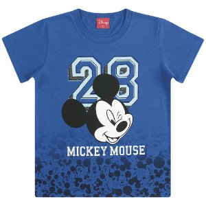 Camiseta Mickey Mouse Piscadinha