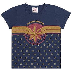 Blusa Capitã Marvel