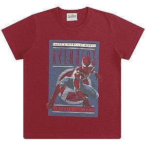 Camiseta Homem Aranha - Vingadores