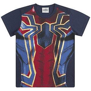 Camiseta Fantasia Homem Aranha - Vingadores