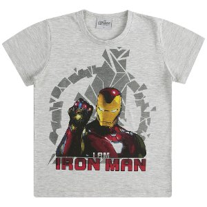 Camiseta Homem de Ferro - Vingadores