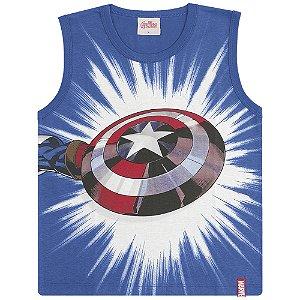 Regata Capitão América, Homem de Ferro e Hulk - Vingadores