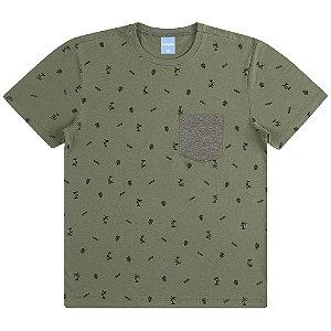 Camiseta com Bolso