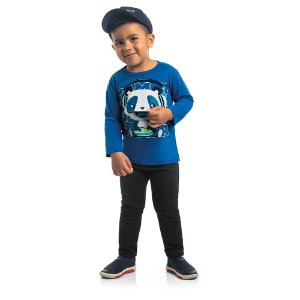 Camiseta Pandinha Zoo Kids