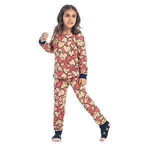 Pijama Coração Sonhador