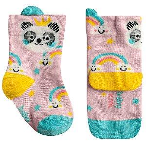 Meia Soquete Panda Madrinha