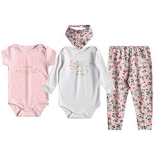 Kit Essencial para Bebês Meninas