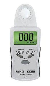HLX-881 LUXIMETRO  HIKARI 50.000 LUX SENSOR RETRATIL