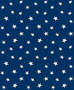Papel de Parede Inflantil de Estrelas Azul - Brilha no Escuro