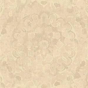 Papel de Parede Mandala Bege