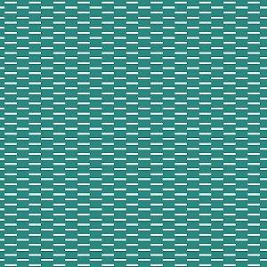 Papel de Parede Geométrico Verde / Prata