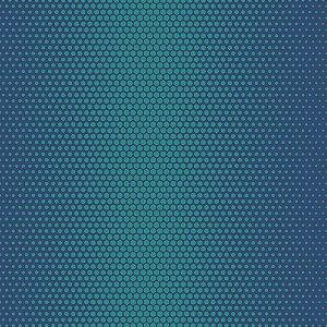 Papel de Parede Geométrico Azul / Verde