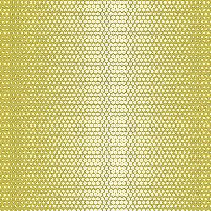 Papel de Parede Geométrico Amarelo / Branco