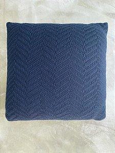 Almofada Arrow Zig 50x50 Azul Profundo