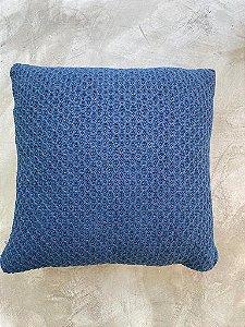 Almofada Colmeia 50x50 Blue Star - Azul