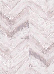 Papel de Parede Geométrico Lilás / Branco