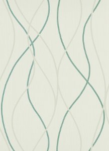 Papel de Parede Geométrico Cinza / Azul