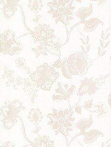 Papel de Parede com Floral Rosa