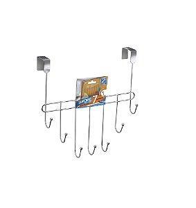 Cabide Organizador Roupas Arthi 1023 - Cromado 7 Ganchos
