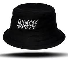 Chapéu bucket hat chronic cor preto básico