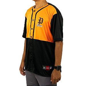 Camisa baseball prison premium edition laranja