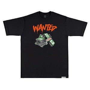 Camiseta wanted – authentic
