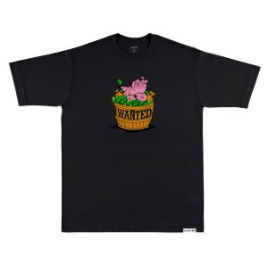 Camiseta wanted – pig hustlin