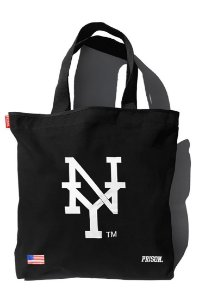 Eco bag prison streetwear new york preta