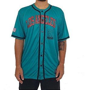 Camisa de baseball prison los angeles 21