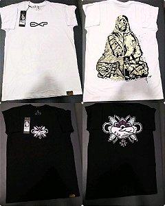 2 Camisa da explosive união + bela art
