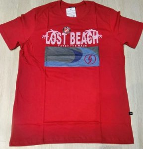 Camisa Lost Beach cath the wave