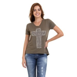 T-SHIRT CRUZ PEDRARIA