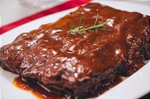 COSTELA SUÍNA AO MOLHO BBQ - PARA COMPARTILHAR