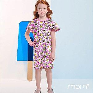 Vestido Momi Verão 2022 Margaridas Feliz